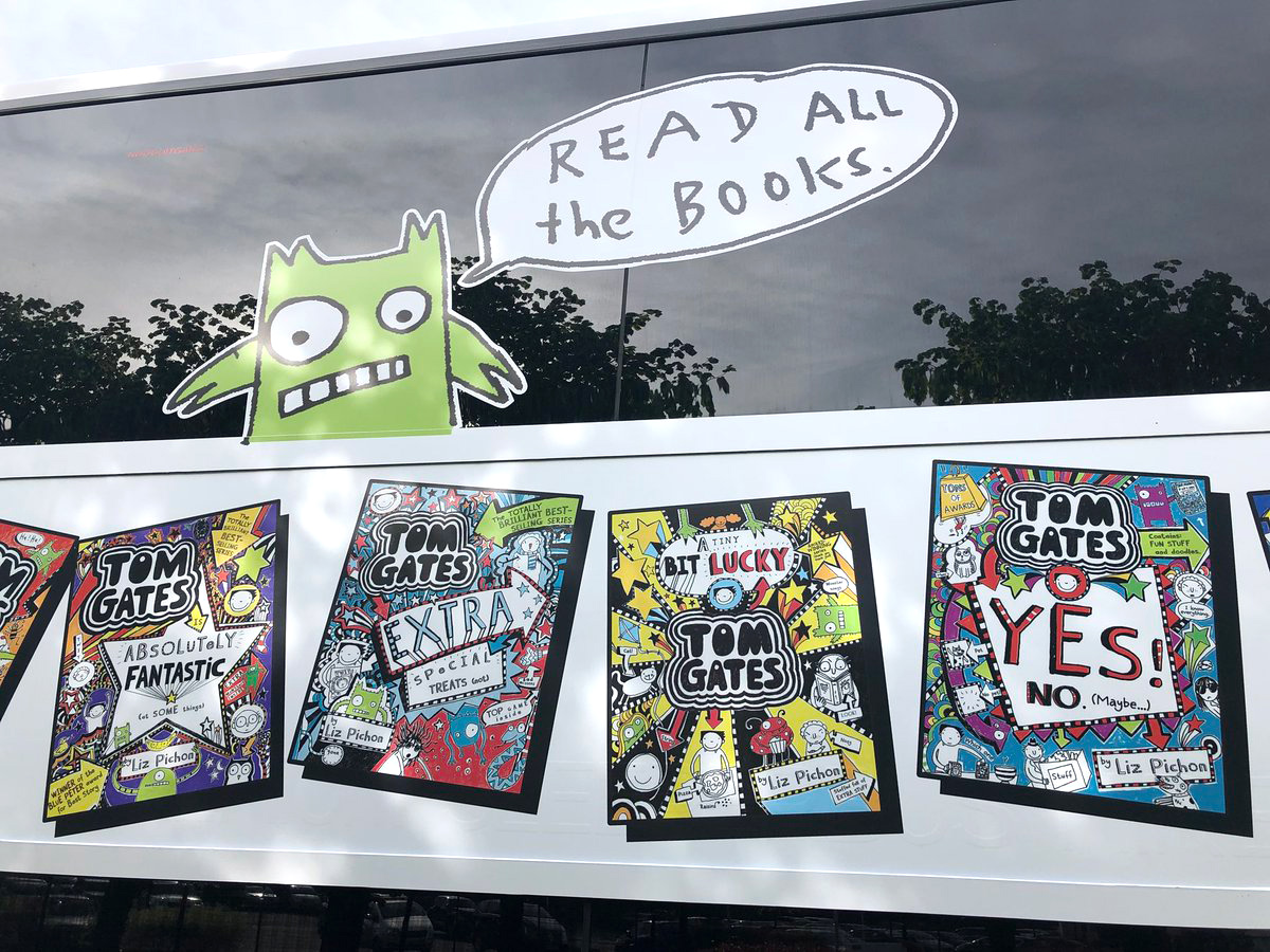 It's Launch Day on the TOM GATE DOODLE BUS!