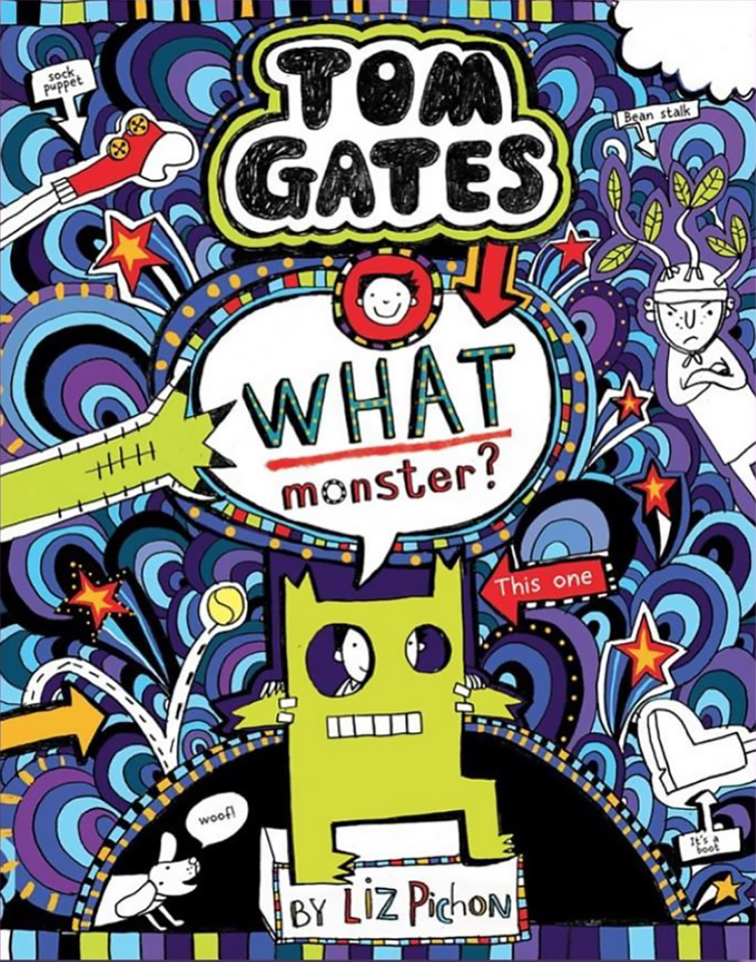 Liz will sign copies of 'Tom Gates: What Monster?' in Brighton.