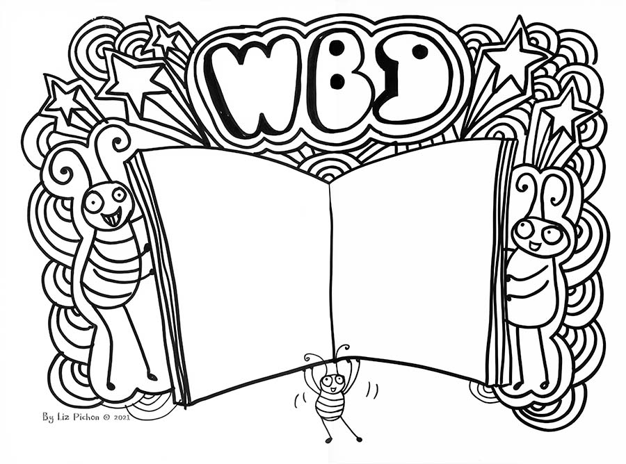 Your WBD Doodle To Colour
